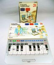 Philips Videopac - Cartouche n°31 Musicien + Clavier + Notice FR
