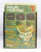 Philips Videopac - Cartouche n°7 Mathématicien