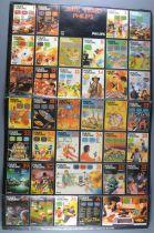 Philips Videopac - Planche d\'Autocollants 36 Stickers Jeux + Console 42x27cm