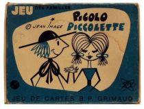 Picolo et Piccolette Family cards game mint in box