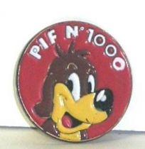 Pif Gadget - Button (tin) Pif pif n° 1000