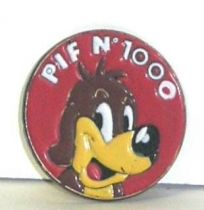 Pif Gadget - Button (tin) Pif pif n° 1000