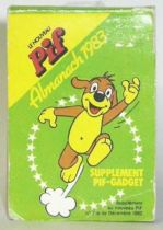 Pif Gadget - Calandar note book 1983 Pif