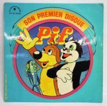Pif Gadget - Disque 45Tours - Pif son premier disque - 1975 Ed. Vaillant / Le chant du Monde