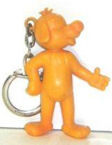 Pif Gadget - Figure key chain Pif yellow