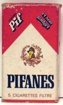 Pif Gadget - Pifanes cigarettes box Pif