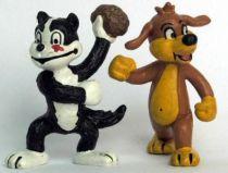 Pif Gadget - Pvc figure Schleich - Pif and Hercule