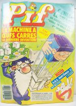 Pif Gadget n°1081 (1989) - La machine à oeufs carrés