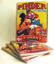 Pinder Circus collector\'s diary