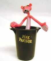 Pink Panther - Brabo 1983 - Bendable Pink with Container