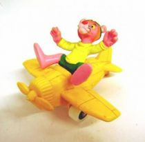 Pink Panther - Bully 1983 - Pilot Pink with his plane