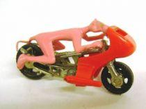 Pink Panther - Corgi Junior 1979 - Die-cast vehicle, Pink Panther ride his motorbikle