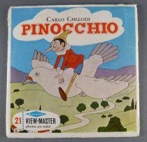 Pinocchio - Pochette de 3 Disques View-Master