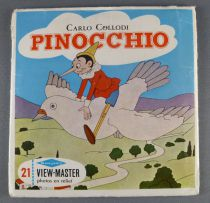 Pinocchio - View-Master 3 discs set + Complet Story