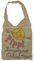 Pipi Langstrumpf , printed fabrics bag