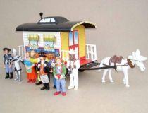 Pipi Langstrumpf , pvc figure , Circus wagon & 8 figures