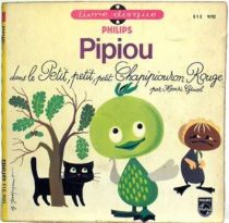 Pipiou - Mini Lp and book - The little red chapipiouron
