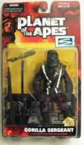 Planet of the apes - Hasbro Signature series - Gorilla sergeant (TV) Mint on Card