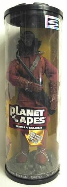 Planet of the apes - Hasbro Signature series - Gorilla soldier 12 inches (Mint in Box)