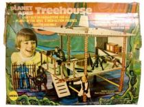 Planet of the apes - Mego - Treehouse Playset (Loose with box)