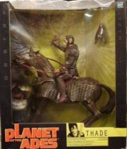 Planet of the apes (Tim Burton movie) - Hasbro - Thade on Battle Steed (Mint in box)