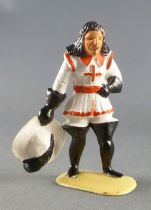 Plastic 54mm Figure - Musketeer (white)