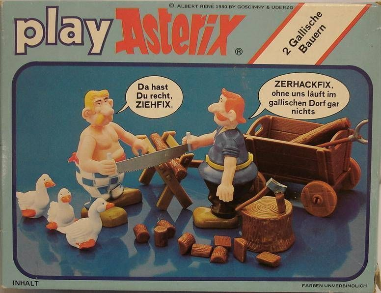 Play Asterix - Arborix and Dentifix - CEJI Germany (ref.6238)