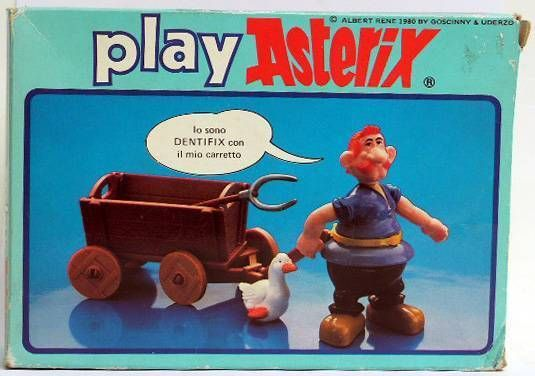 Play Asterix - Dentifix the farmer - CEJI Italy (ref.6212)