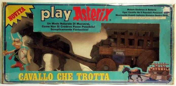 Play Asterix - Gallic wagon - CEJI Italy (ref.6252)