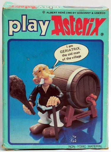 Play Asterix - Geriatrix - CEJI UK (ref.6206)