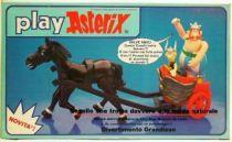 Play Asterix - Motorised Gallic chariot 1 horse - CEJI Italy (ref.6251)