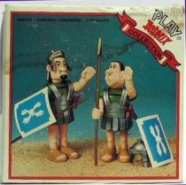 Play Asterix - Roman Legionaires Militarius and Velocius - Toy Cloud (ref.3152)