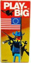Play-Big - Ref.5861 Colonel Nordiste avec Drapeau US