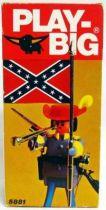 Play-Big - Ref.5881 Confederation Colonel with Confederate flag