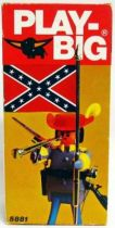 Play-Big - Ref.5881 Confederation Colonel with Confederate flag