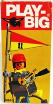 Play-Big - Ref.5883 Confederation Soldier flag-bearer