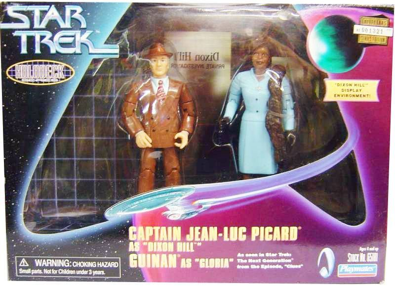 Playmates - Star Trek The Next Generation - Captain Jean-Luc Picard as \\\'\\\'Dixon Hill\\\'\\\' & Guinan as \\\'\\\'Gloria\\\'\\\'