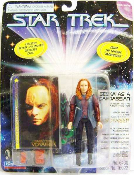 Playmates - Star Trek Voyager - Seska as a Cardassian