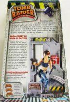 Playmates - Tomb Raider -  10\'\' figure - Lara Croft in Area 51