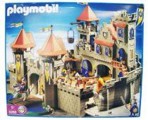 Playmobil - Chevaliers (2004) - Grand Château Royal Ref. 3268 (Neuf en Boite) 01