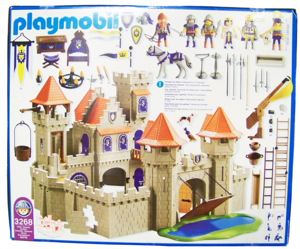 playmobil knights 2004 empire castle mint in sealed. Black Bedroom Furniture Sets. Home Design Ideas