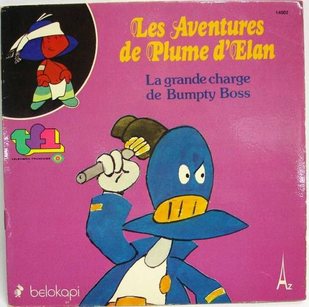 Plume d\\\'Elan - Record-Book 45s - La grande charge de Bumpty Boss - Belokapi 1979