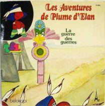 Plume d\'Elan - Record-Book 45s - La guerre des guerres - Belokapi 1979