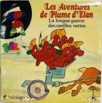 Plume d\'Elan - Record-Book 45s - La longue guerre des oreilles vertes - Belokapi 1979