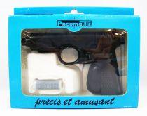 """Pneuma.Tir - Syljeux France - Pistolet Noir \""""Classique\"""" (neuf en boite)"""