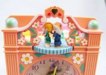 Polly Pocket - Bluebird Toys 1991 - Polly Pocket Funtime Clock Playset