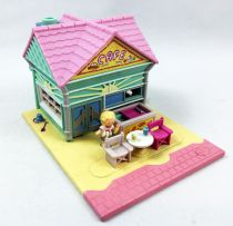 Polly Pocket - Bluebird Toys 1993 - Beach Café (loose)