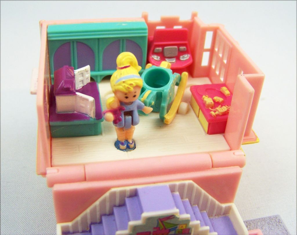 Polly Pocket - Bluebird Toys 1993 - Polly Pocket Toy Shop (occasion) 04