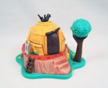 Polly Pocket - Bluebird Toys 1995 - Disney\'s Pocahontas Powhatan Home (occasion) 01