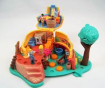 Polly Pocket - Bluebird Toys 1995 - Disney\'s Pocahontas Powhatan Home (occasion) 02